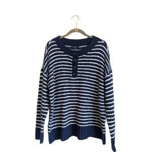 American Eagle Jegging Fit Striped Sweater M